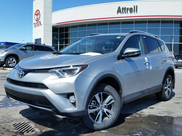 2016 toyota rav4 xle silver attrell toyota new. Black Bedroom Furniture Sets. Home Design Ideas