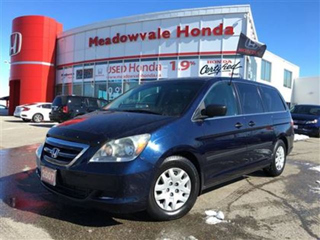 2007 honda odyssey lx blue meadowvale honda. Black Bedroom Furniture Sets. Home Design Ideas