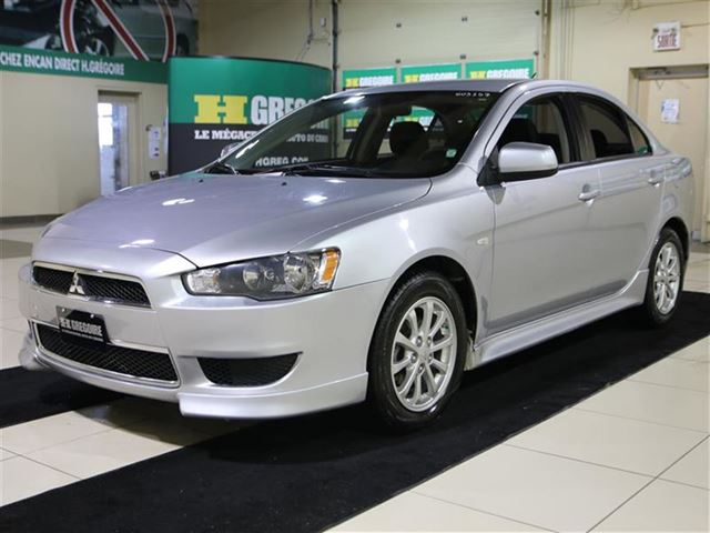 used 2012 mitsubishi lancer auto a c saint leonard. Black Bedroom Furniture Sets. Home Design Ideas