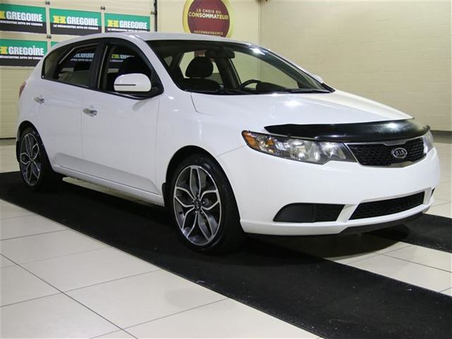 2011 kia forte ex hatchback auto a c gr n lect mags white. Black Bedroom Furniture Sets. Home Design Ideas