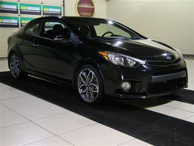 2014 kia forte koup sx turbo black h gregoire saint. Black Bedroom Furniture Sets. Home Design Ideas