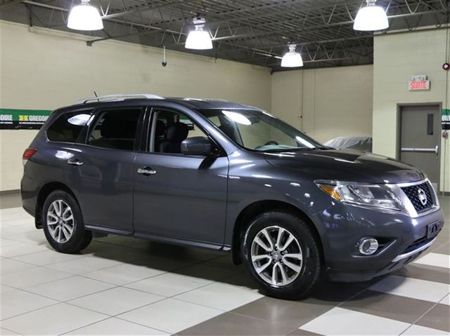 2014 nissan pathfinder sv 4x4 7passagers auto a c gr n lect grey h gregoire saint eustache. Black Bedroom Furniture Sets. Home Design Ideas