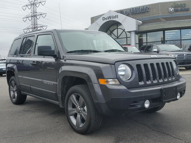 Jeep Patriot High Altitude >> 2015 Jeep Patriot HIGH ALTITUDE EDITION LEATHER Grey | DEWILDT CHRYSLER DODGE JEEP | Wheels.ca