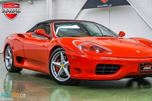 2004 Ferrari 360 Modena Spider 6-speed MANUAL in Oakville, Ontario