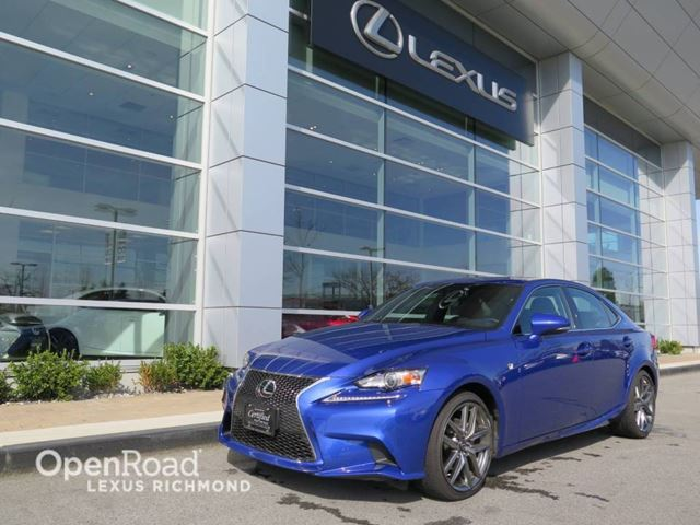 2014 lexus is 250 f sport awd package blue openroad. Black Bedroom Furniture Sets. Home Design Ideas