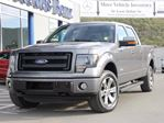 2013 Ford F-150 Ford F150 | FX4 Off Road | Leather | EcoBoost | Tail Gate Step | Heated & Cooled Front Sears | Spray In Bed Liner | Rear Slider in Kamloops, British Columbia