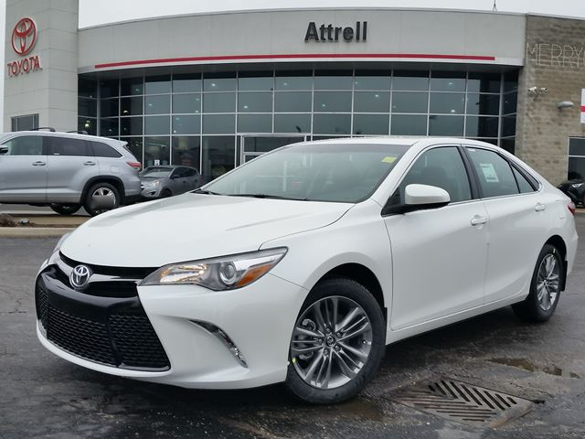 2016 toyota camry se white attrell toyota new. Black Bedroom Furniture Sets. Home Design Ideas
