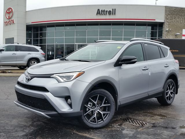2016 toyota rav4 se silver attrell toyota new. Black Bedroom Furniture Sets. Home Design Ideas