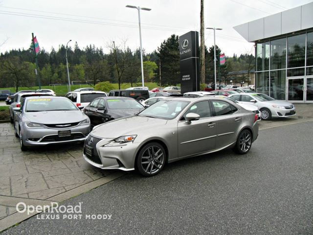 2015 lexus is 250 silver openroad lexus port moody. Black Bedroom Furniture Sets. Home Design Ideas