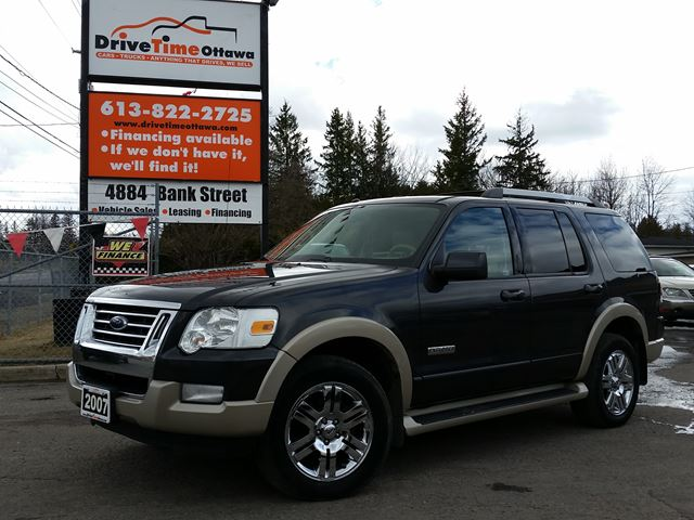 2007 ford explorer eddie bauer 4x4 7 passenger ottawa. Black Bedroom Furniture Sets. Home Design Ideas