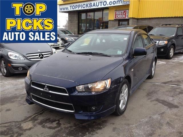 2014 MITSUBISHI LANCER Limited in North Bay, Ontario