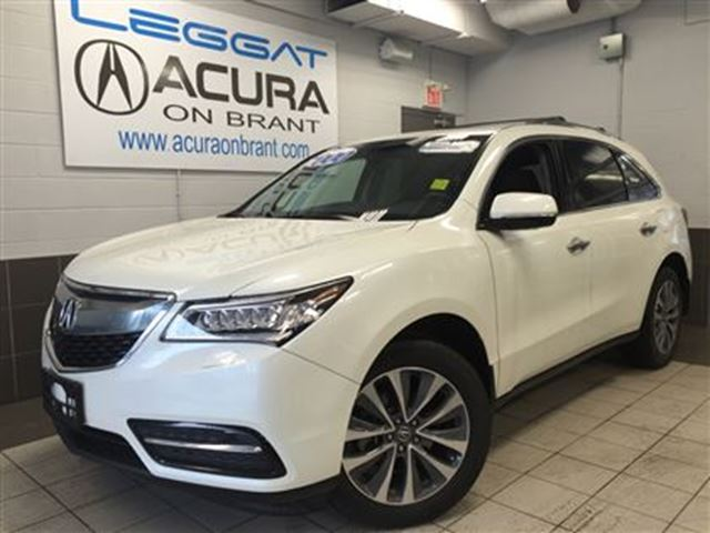 2016 acura mdx navi only13000kms companydemo. Black Bedroom Furniture Sets. Home Design Ideas