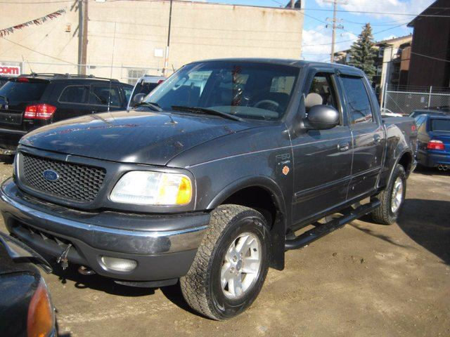 2003 ford f 150 lariat 4x4 styleside 139 in wb grey 780cars. Black Bedroom Furniture Sets. Home Design Ideas