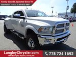 2014 Dodge RAM 3500 Laramie W/LEATHER INT, SUNROOF & 8.4 TOUCHSCREEN MEDIA CENTER in Surrey, British Columbia