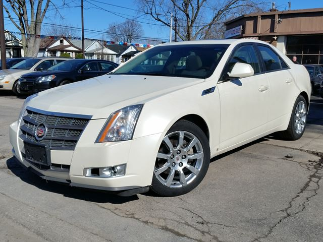 2008 cadillac cts w 1sb st catharines ontario used car. Black Bedroom Furniture Sets. Home Design Ideas