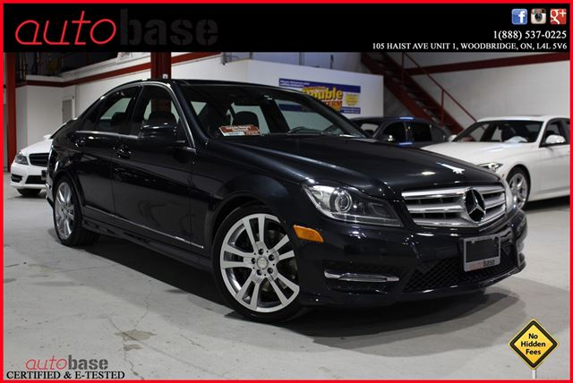 2013 mercedes benz c class c350 4matic navi premium dark for 2013 mercedes benz c350