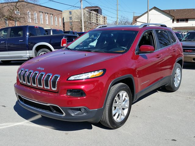 2015 jeep cherokee limited red manley motors limited for Manley motors used cars