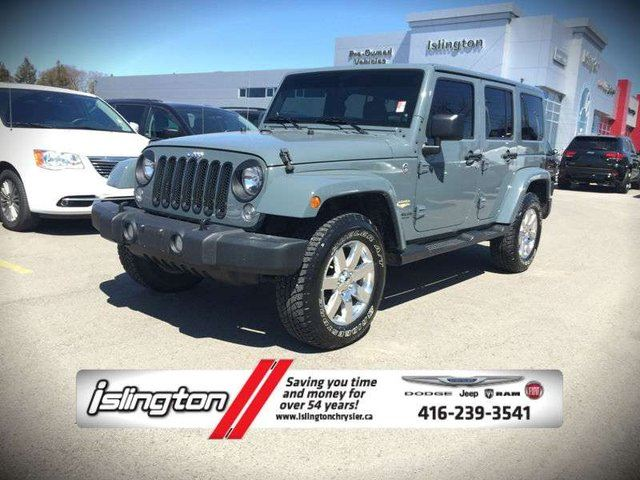 2014 jeep wrangler unlimited sahara 4x4 3 6l v6 w leather int. Cars Review. Best American Auto & Cars Review