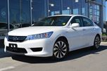 2015 Honda Accord Hybrid Certified | Premium Beige Leather Heated Seating in the Front & Back Seats | Navigation | Sunroof | Push Button Start | Hybrid | Right Side Camera | LED Headlights | in Kamloops, British Columbia
