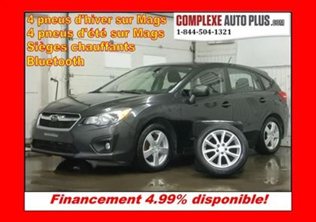 2012 subaru impreza touring hatch 8 mags 8 pneus grey. Black Bedroom Furniture Sets. Home Design Ideas