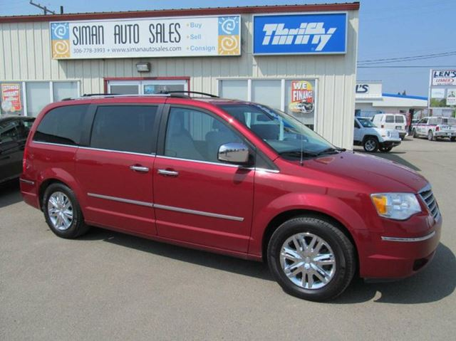 2008 chrysler town country limited dark red siman auto sales. Black Bedroom Furniture Sets. Home Design Ideas