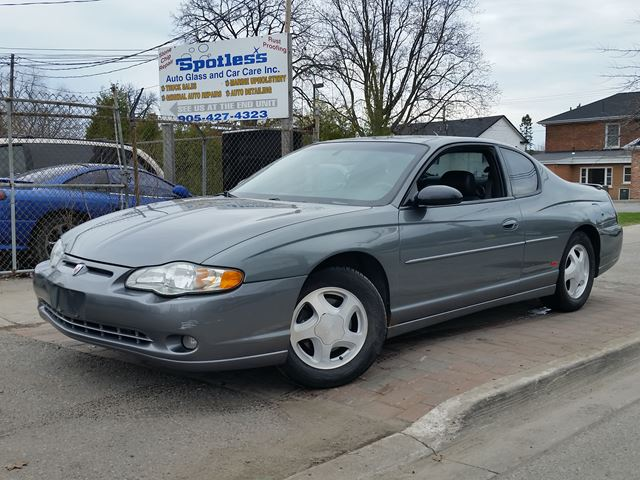 2004 chevrolet monte carlo ss whitby ontario used car for sale 2462040. Black Bedroom Furniture Sets. Home Design Ideas
