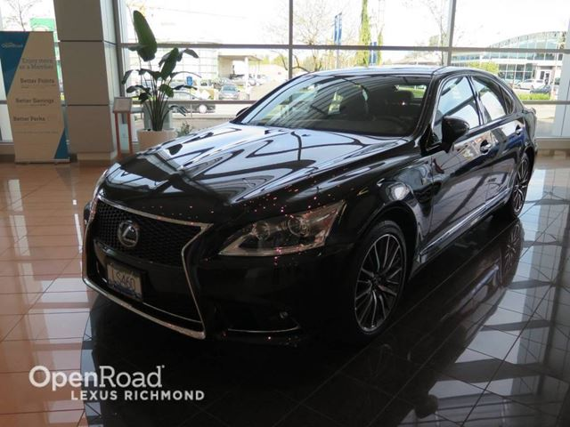 2015 lexus ls 460 f sport package awd richmond british columbia used car for sale 2462759. Black Bedroom Furniture Sets. Home Design Ideas
