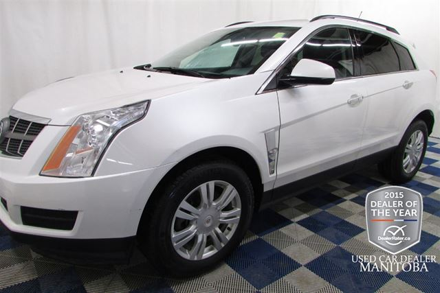 2012 Cadillac SRX AWD/LTHR/CLEAN HISTORY/SERVICE RECORDS in Winnipeg, Manitoba