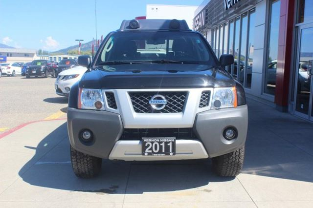 2011 nissan xterra pro 4x vernon british columbia car for sale 2464353. Black Bedroom Furniture Sets. Home Design Ideas