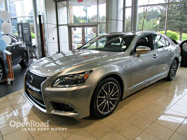 2016 lexus ls 460 f sport awd luxury and performance port moody british columbia used car. Black Bedroom Furniture Sets. Home Design Ideas