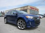 2013 Ford Edge SPORT AWD, NAV, ROOF, LEATHER, 57K! in Stittsville, Ontario