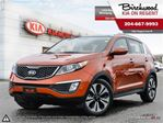 2013 Kia Sportage SX AWD\Sunroof\Leather Htd Seats\Navi in Winnipeg, Manitoba