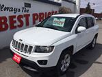 2015 Jeep Compass Sport/North 4X4, ALLOY WHEELS, MP3 INPUT in Oshawa, Ontario