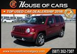 2016 Jeep Patriot High Altitude  *189 Bi-Weekly with $0 Down!* in Calgary, Alberta