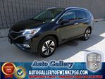 2015 Honda CR-V Touring AWD*NAV/Lthr in Winnipeg, Manitoba