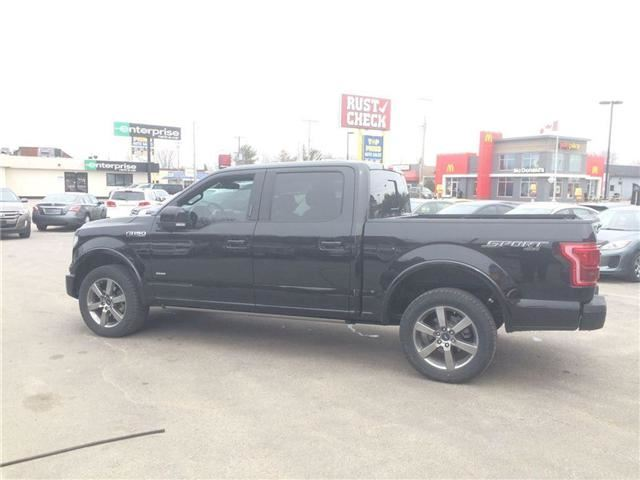 2015 ford f 150 lariat north bay ontario used car for. Black Bedroom Furniture Sets. Home Design Ideas