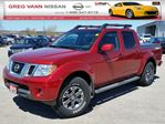 2015 Nissan Frontier PRO-4X 4x4 w/all leather,NAV,pwr sunroof,tonneau cover in Cambridge, Ontario