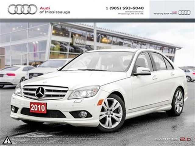 2010 mercedes benz c class c300 4matic white audi of for Mercedes benz c300 4matic 2010 price
