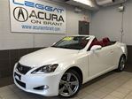 2012 Lexus IS 250 ONLY30000KMS   REDLEATHER   1OWNER   NOACCIDENTS in Burlington, Ontario