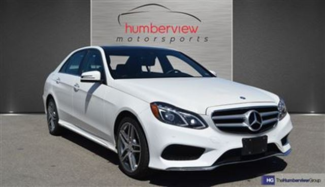 2016 mercedes benz e class e400 4matic avantgarde pkg white humberview motorsports. Black Bedroom Furniture Sets. Home Design Ideas