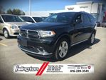 2015 Dodge Durango LIMITED - AWD, 3.6L V6 *FORMER RENTAL* w/ REMOTE START, POWER/HEATED SEATS, NAV, BACKUP CAM, SUNROOF, DUAL VIDEO MONITORS, CD/BLU-RAY, 20 RIMS & MORE! in Toronto, Ontario