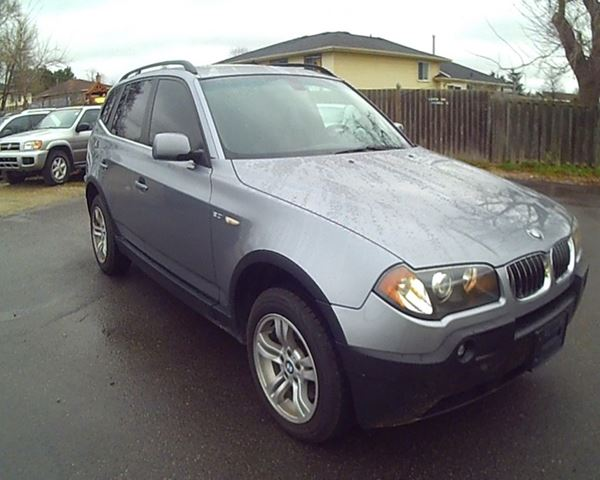 2005 bmw x3 cambridge ontario used car for sale 2467891. Black Bedroom Furniture Sets. Home Design Ideas
