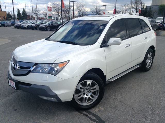 2009 acura mdx technology package white barrie honda. Black Bedroom Furniture Sets. Home Design Ideas