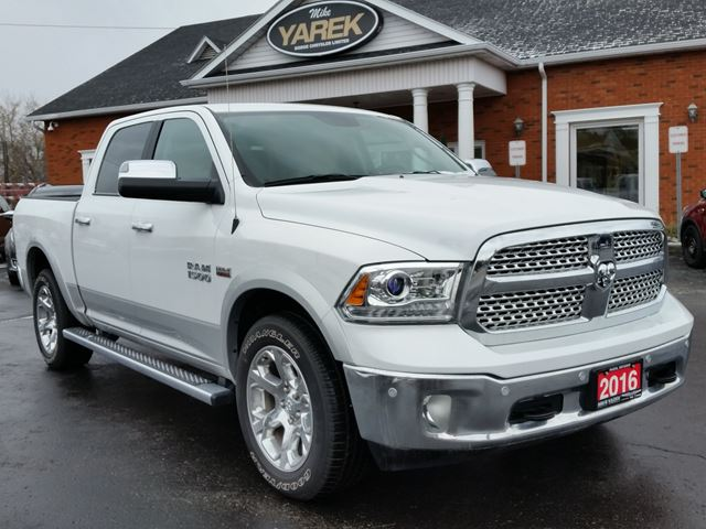 2016 ram 1500 laramie 4x4 leather heated vented seats remote start nav hemi white mike. Black Bedroom Furniture Sets. Home Design Ideas
