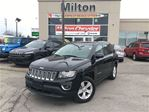 2015 Jeep Compass HIGH ALTITUDE 4X4/LEATHER/SUNROOF/TINT in Milton, Ontario
