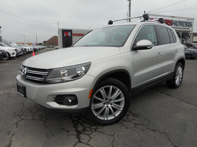 2012 VOLKSWAGEN TIGUAN AWD - HIGHLINE - LEATHER  in Oakville, Ontario
