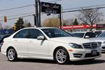 2012 Mercedes-Benz C-Class AWD C250 4MATIC ONLY 77K! **NAVIGATION PKG** SPORT PKG in Scarborough, Ontario