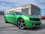 2011 Chevrolet Camaro RS, SYNERGY GREEN, 57K!  in Stittsville, Ontario