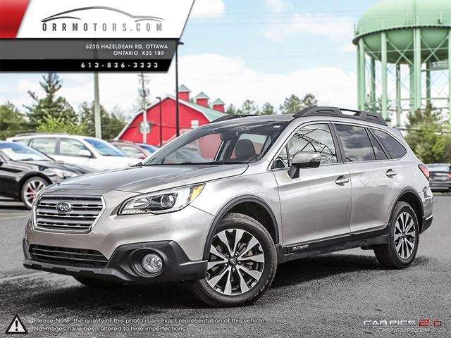 2015 subaru outback 3 6r limited silver orr motors. Black Bedroom Furniture Sets. Home Design Ideas