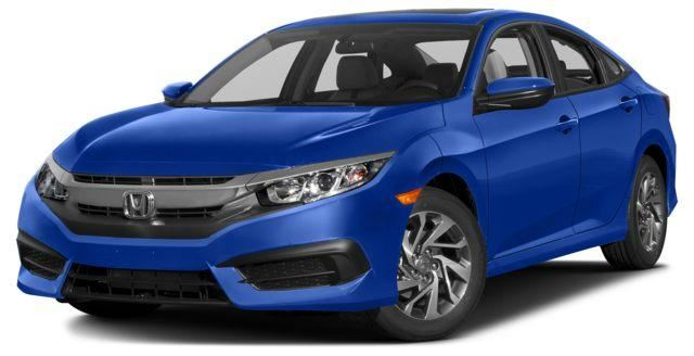 2016 honda civic ex blue barrie honda new car. Black Bedroom Furniture Sets. Home Design Ideas